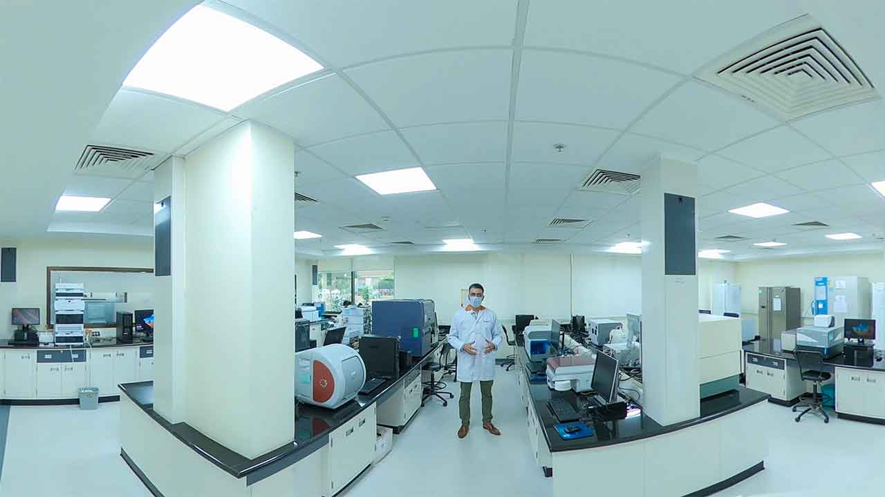 Flow Cytometry, Biophysical Assays, Microbiology and NGS Lab