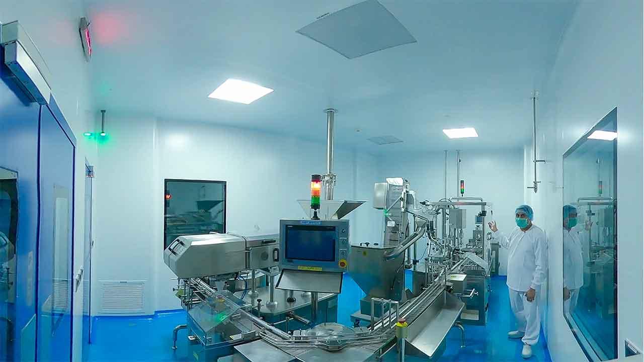 Oral Solid Dosage - GMP Manufacturing Facility