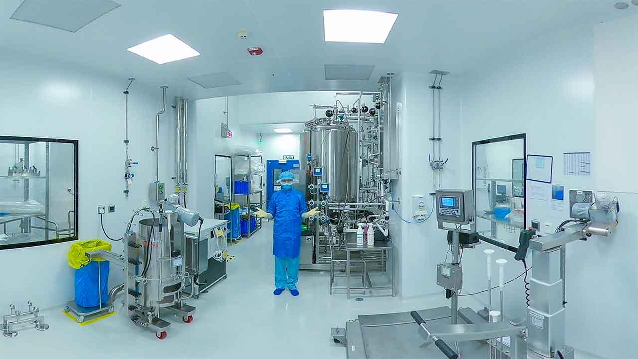 Biologics Manufacturing Facility:   Upstream Processing